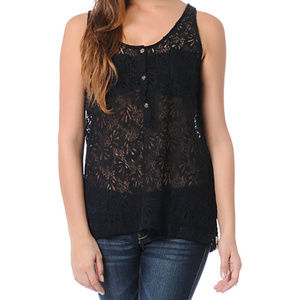 Volcom Not-So-Classic Lace Tank
